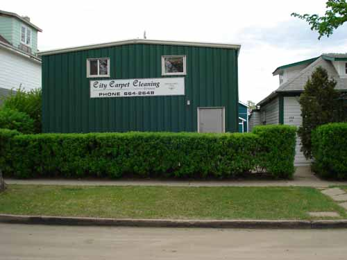 City Carpet Cleaning Building
